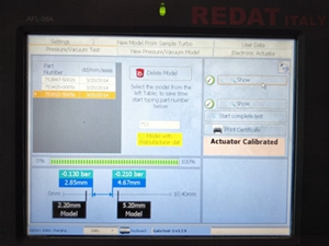 actuator calibrating