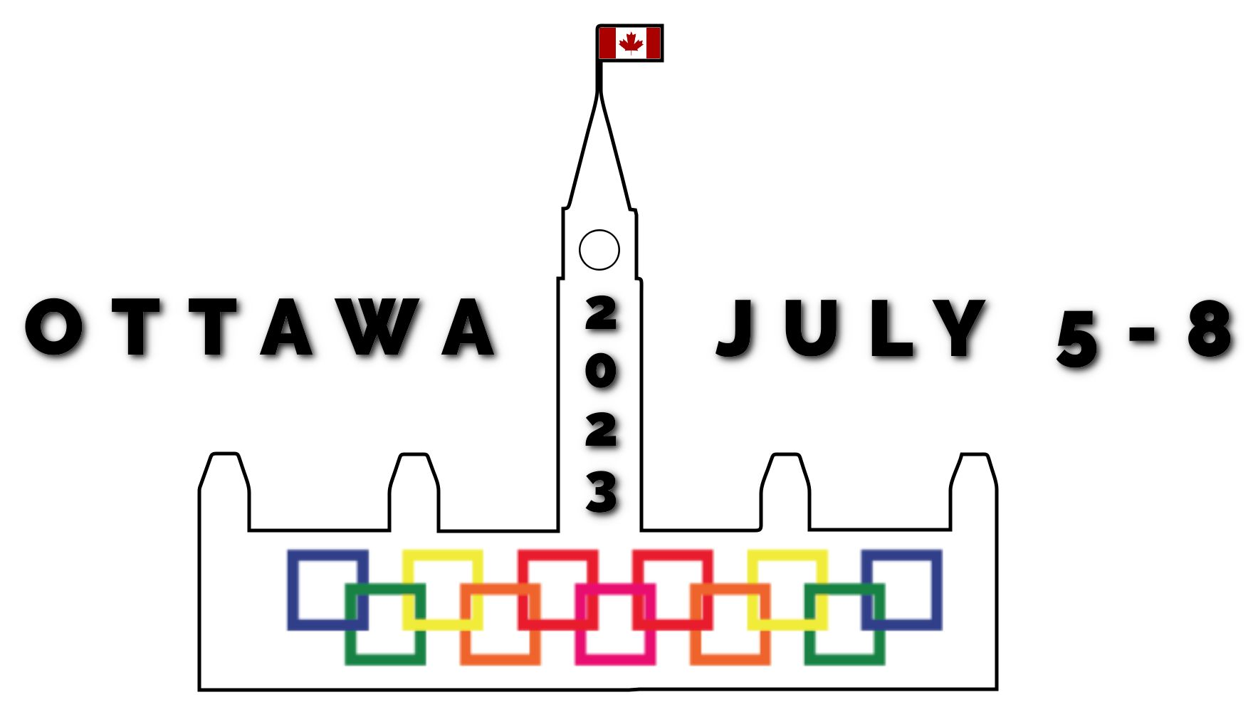 Temporary Ottawa 2023 logo non transparent