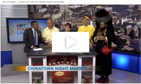 Asian Fest Night Market on CTV Morning 7 September 2016
