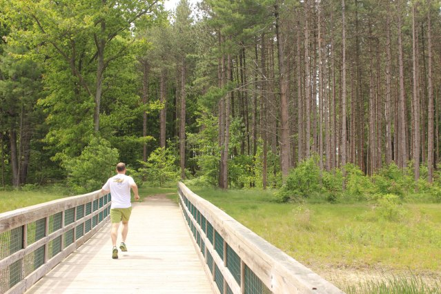 Riley-Trails-runner-on-bridge