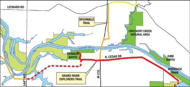 4-mile segment