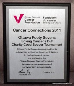 2011 Kicking Cancer's Butt Charity Tournament