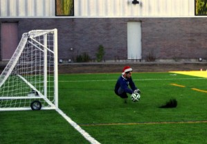 Carleton University Coed League Goalie
