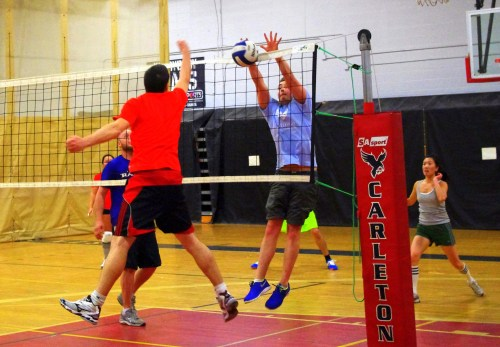 Volley Sixes at Carleton University