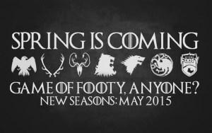 Game of Thrones & Footy Sevens Sigils