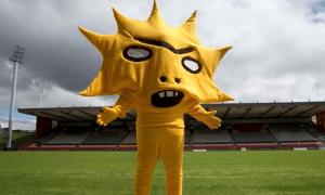 Partick Thistle mascot