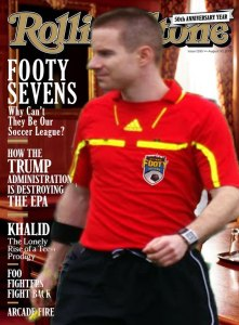 Rolling Stone Tredeau Cover Footy Sevens