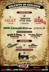 Month of Silence Film Festival Flyer