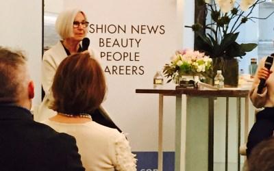 Fashionable Thinking….Designer Eileen Fisher speaks in NYC