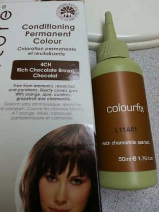 The Colour I chose was a Chocolate Brown