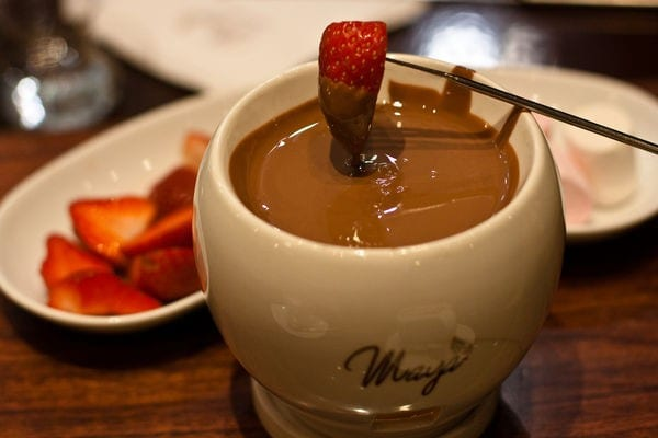 Chocolate Mocha Fondue