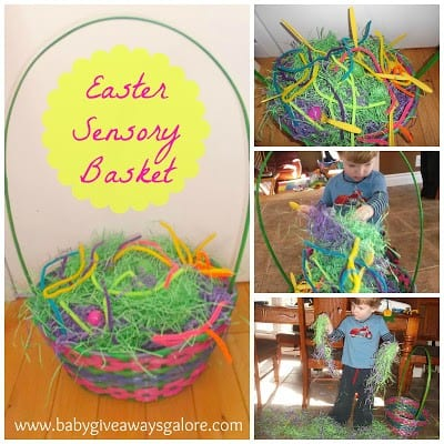 Easter Sensory Basket