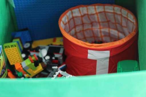 Operation: Playroom Organization!