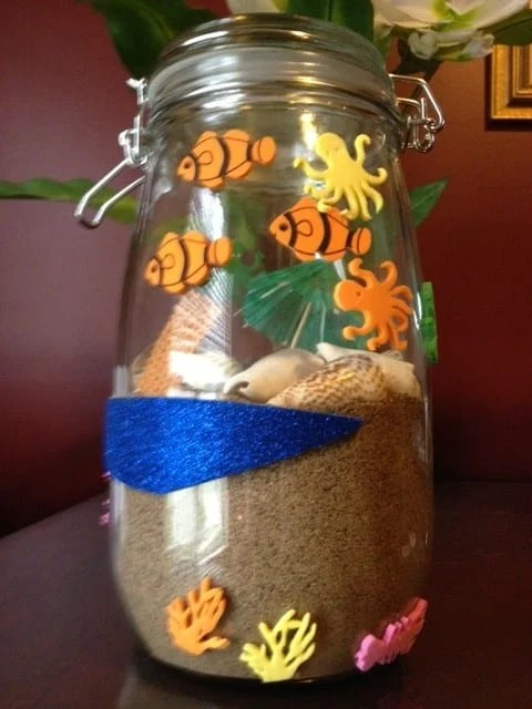 Sand jar craft