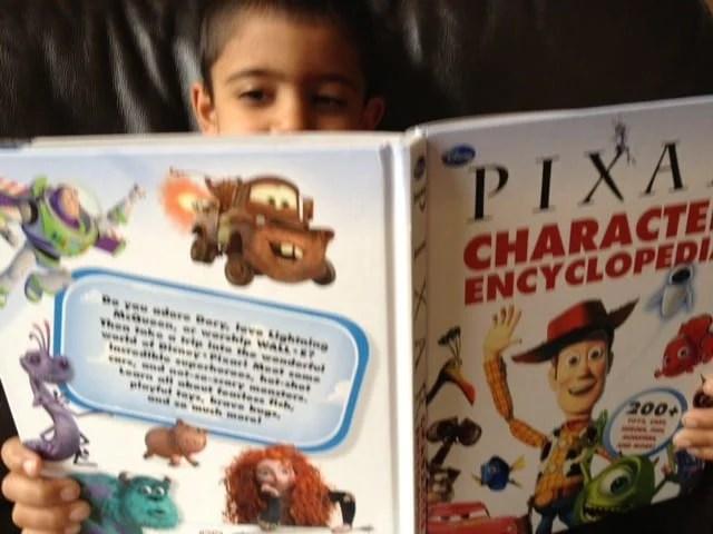 Reading DK Books