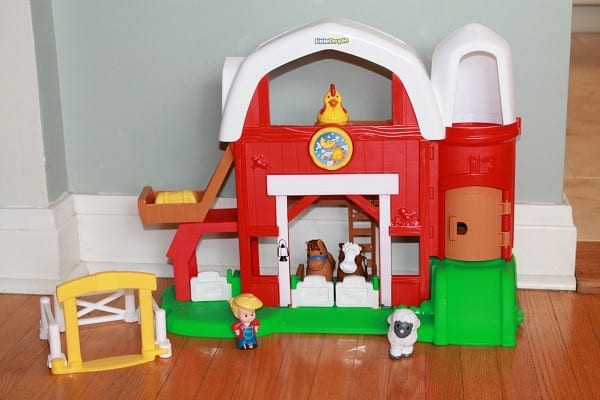 Fisher Price Little People Fun Sounds Farm Review And Giveaway