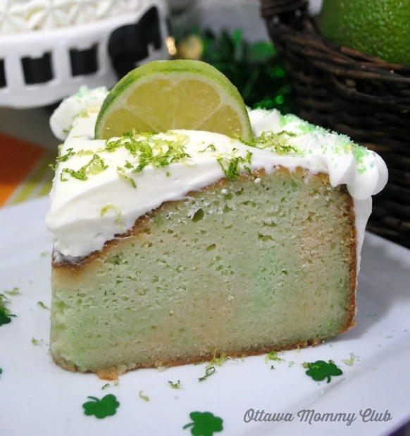 Leprechaun Lime Cake Recipe