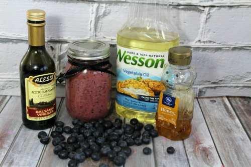 Blueberry vin. ingred