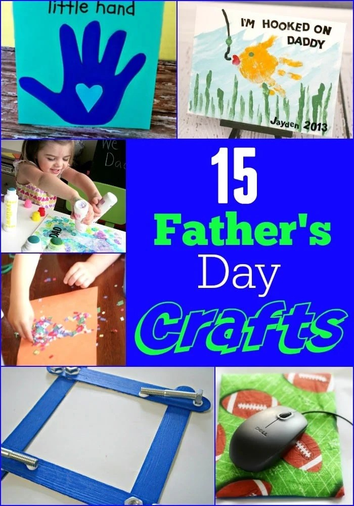 15 Father's Day Crafts