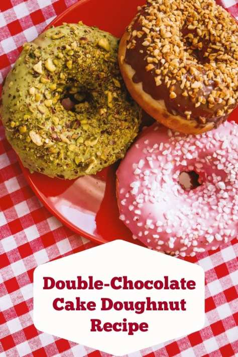 Double-Chocolate Cake Doughnut Recipe