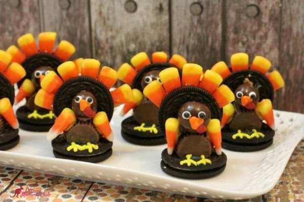 Thanksgiving Oreo Turkey Treat