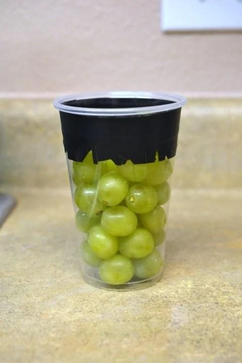 Grapenstein: Halloween Craft & Healthy Snack