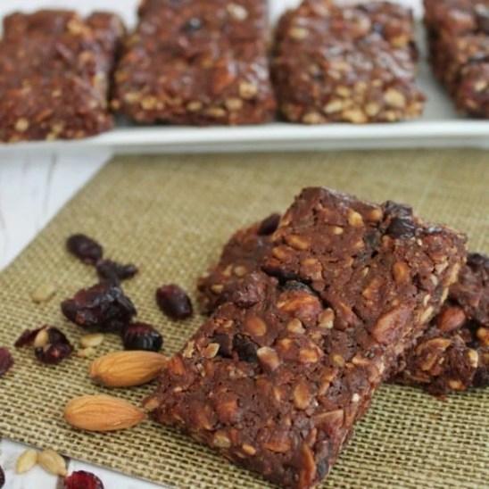 Homemade-Healthy-Granola-Bars recipe