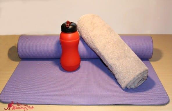 Ottawa Mommy Club Always Discreet Workout Photo
