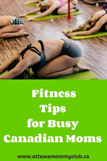 Fitness Tips for Busy Canadian Moms