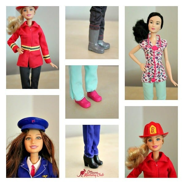Ottawa Mommy Club Barbie Clothing Collage Photo