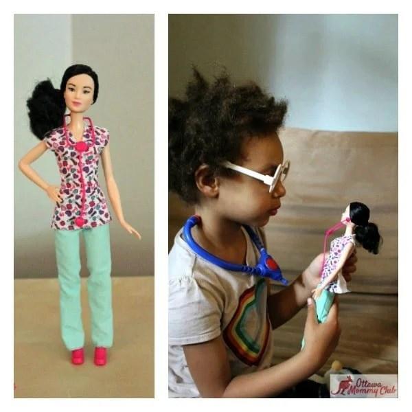 Ottawa Mommy Club Nurse Barbie Maya Collage Photo