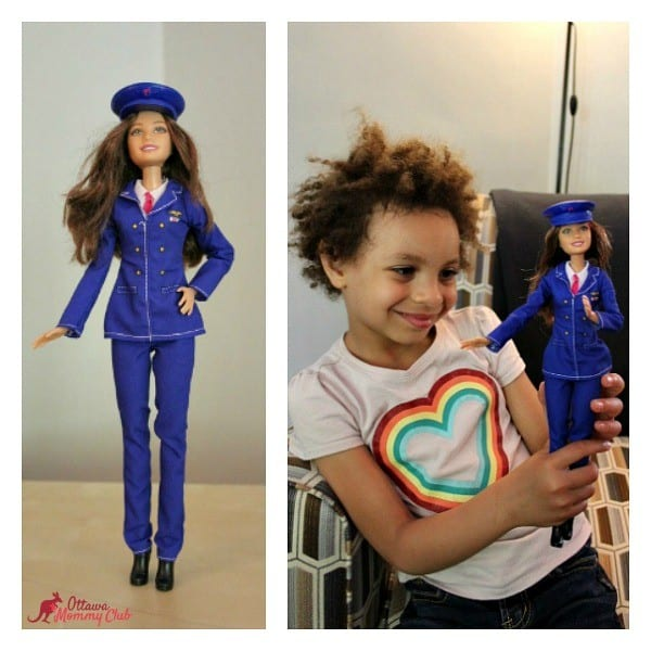 Ottawa Mommy Club Pilot Barbie Maya Collage Photo