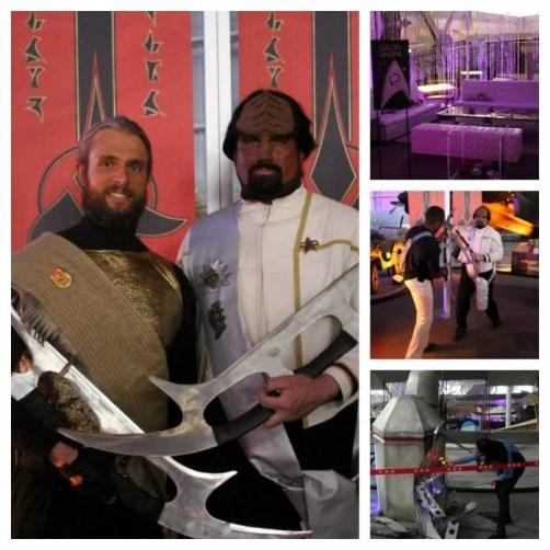 cosplayers STAR TREK The Starfleet Academy Experience gala