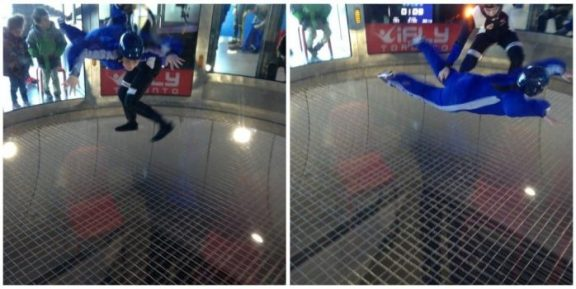 iFly Toronto- in the chamber