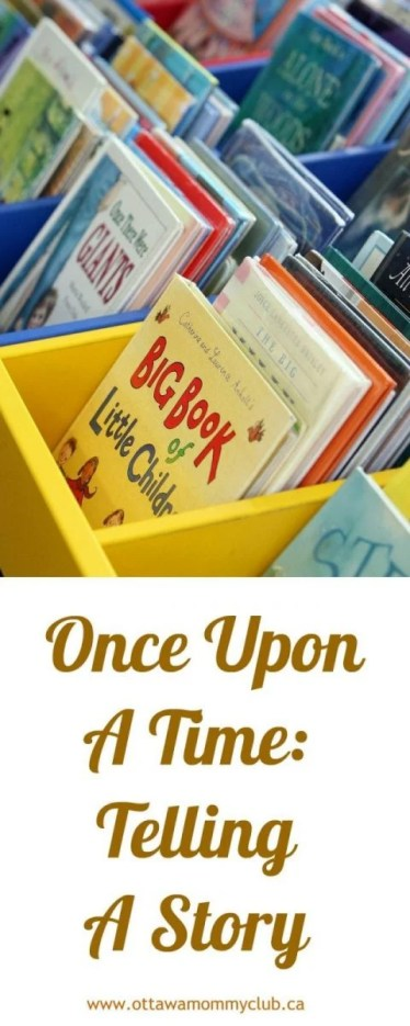 Once Upon A Time: Telling A Story