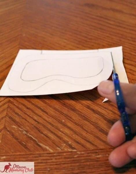Ottawa Mommy Club Butterfly Craft Cut Shape Photo