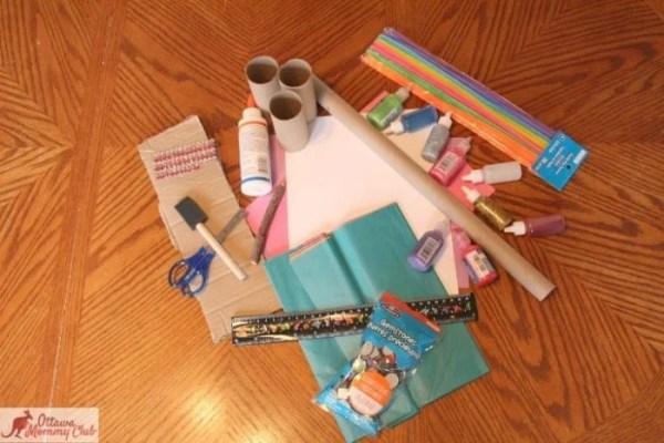 Ottawa Mommy Club Butterfly Craft Supplies Photo