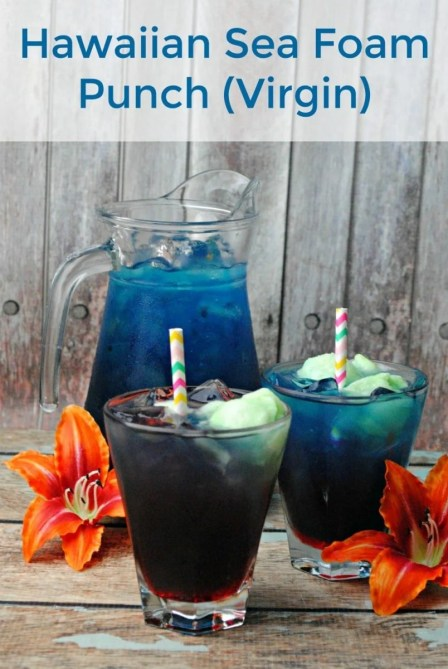 Hawaiian Sea Foam Punch (Virgin) Recipe