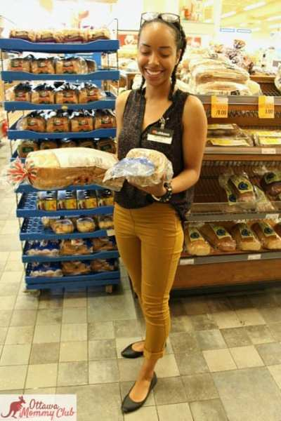 Ottawa Mommy Club Loblaw Dietician Good vs Bad Bread Photo 2