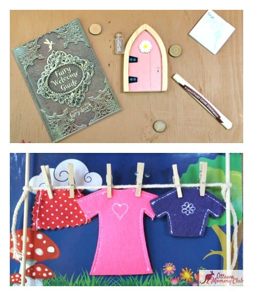 Ottawa Mommy Club Irish Fairy Door Company Pieces Collage Photo