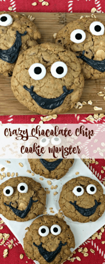 Crazy Chocolate Chip Cookie Monster Recipe