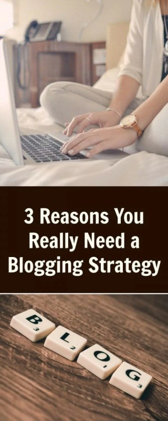3 Reasons You Really Need a Blogging Strategy