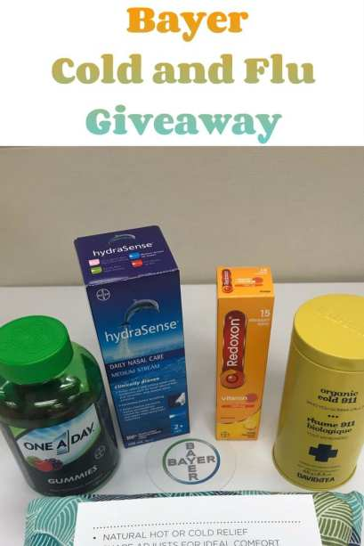 Bayer Cold and Flu Giveaway