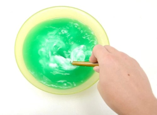 DIY Halloween Monster Slime