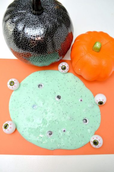 DIY Halloween Monster Slime