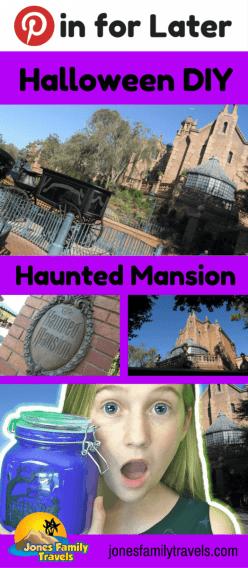 Halloween DIY & Craft | Disney Haunted Mansion Decoration