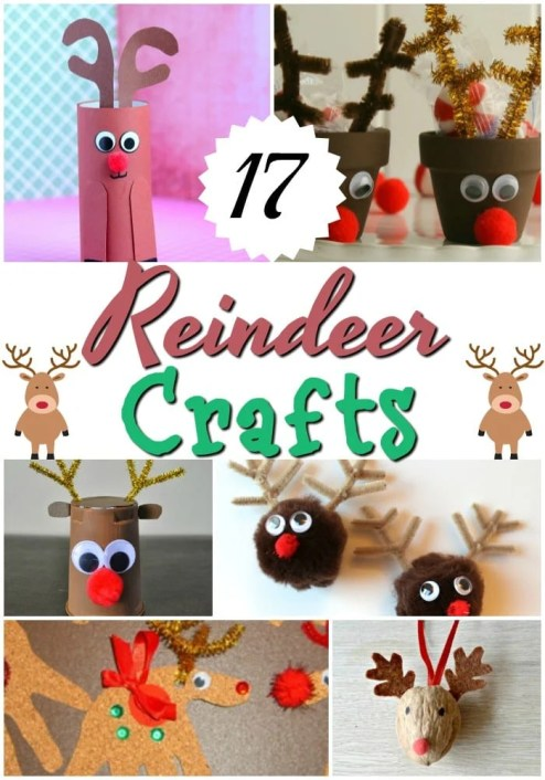 17 Reindeer Crafts For The Family