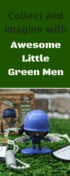 Collect and Imagine with Awesome Little Green Men
