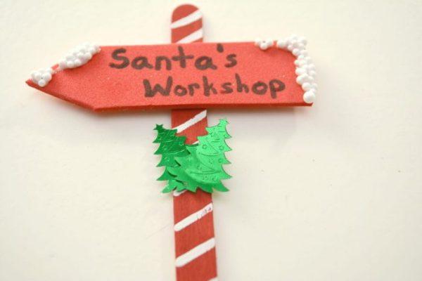 DIY Santas Workshop Ornament