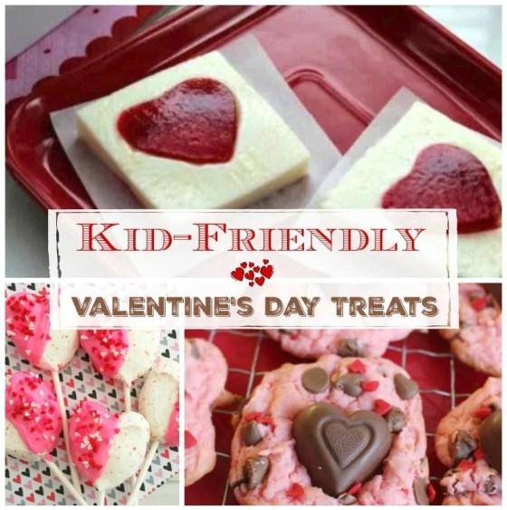 Kid Friendly Valentines Day Treats
